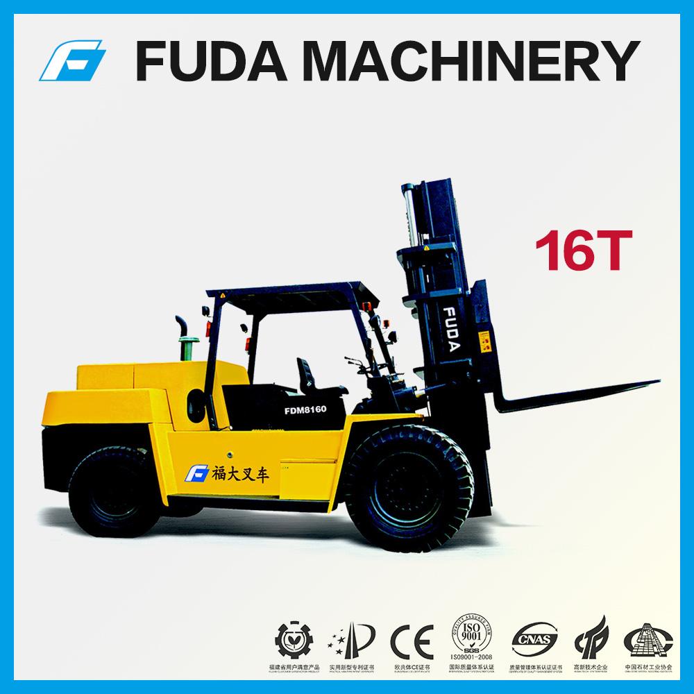 <b>16t forklift FDM8160</b>