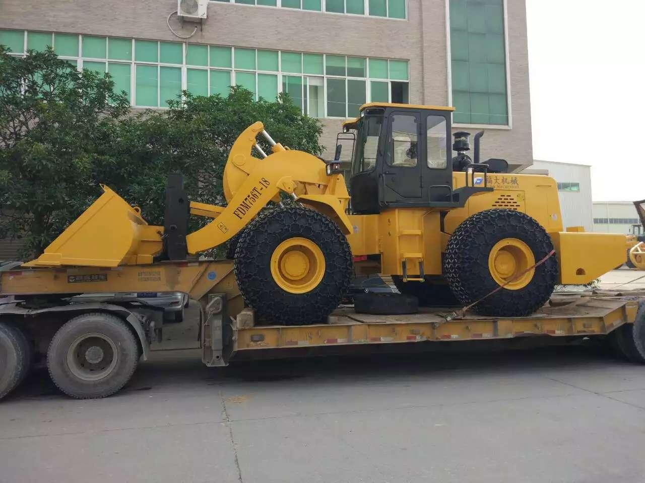 18 ton block handler sent to Kenya