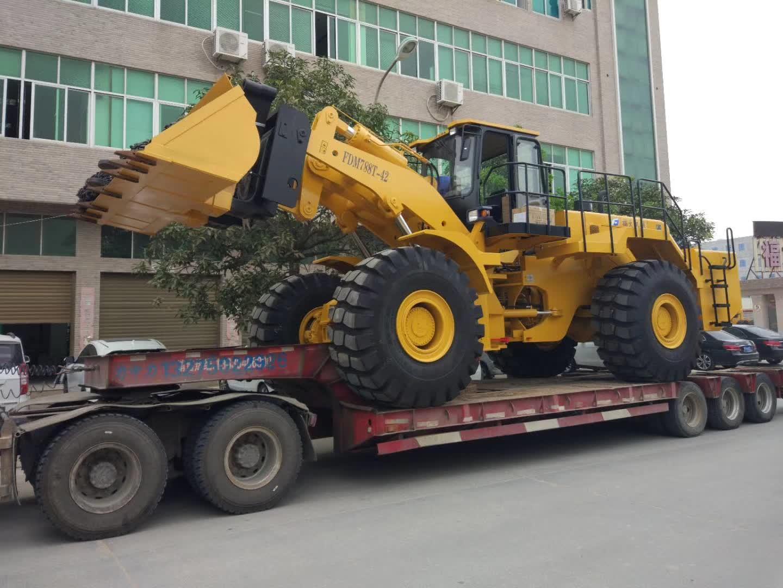 42t forklift loader sent to Angola