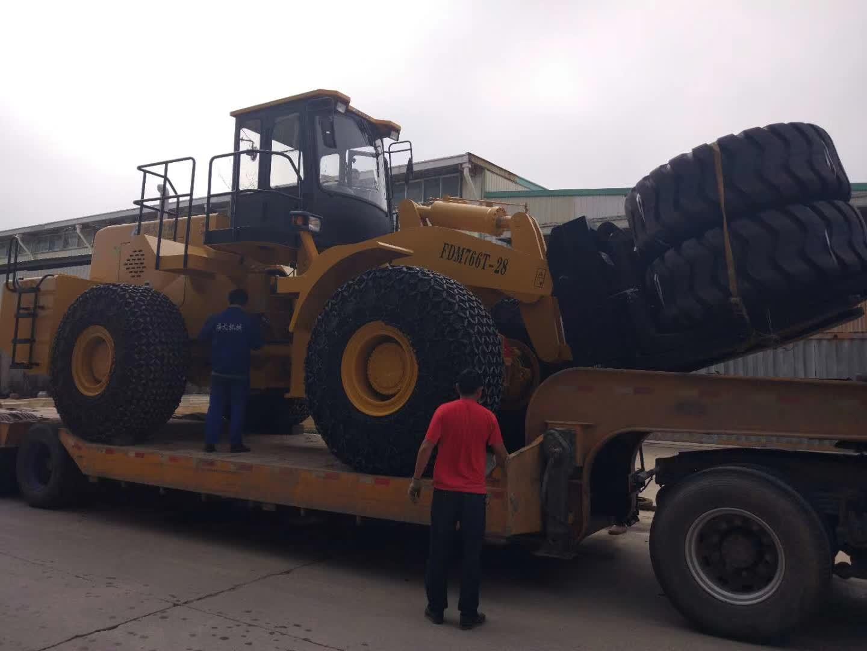 28t forklift loader sent to Pakistan