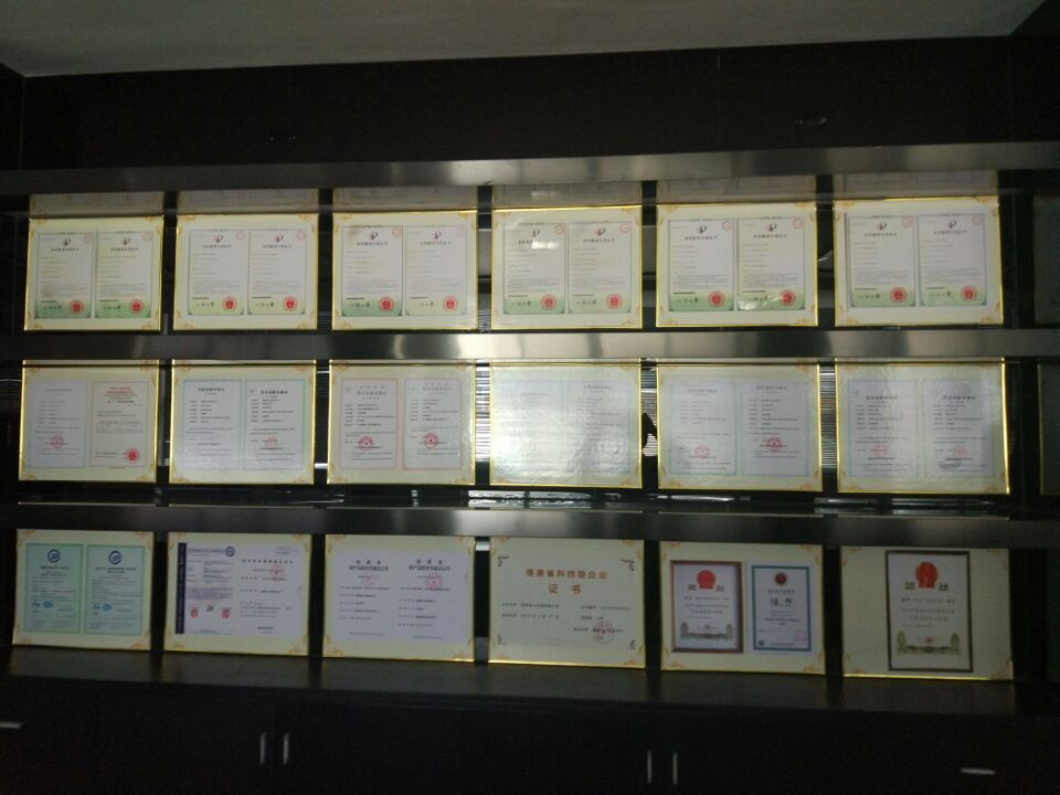 Certificates and honors