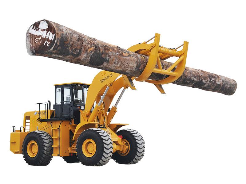 Wheel loader with log grapple FDM779J-15