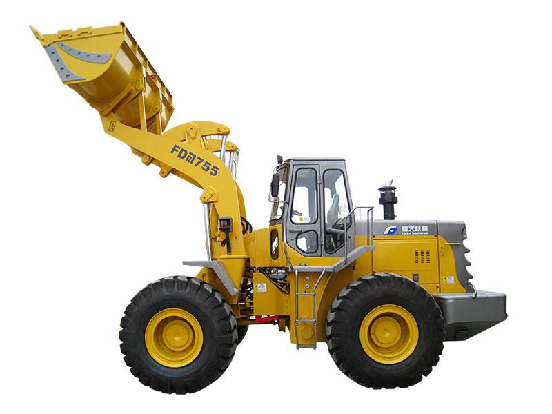 5 ton wheel loader FDM755